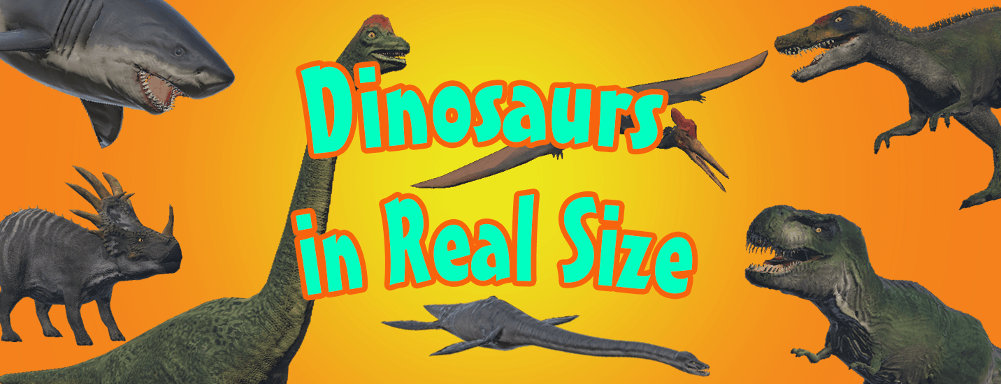 Dinosaurs in Real Size