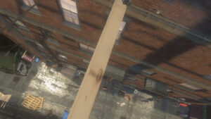 Plank Not Included Alley Level 15 m / 49 feet high